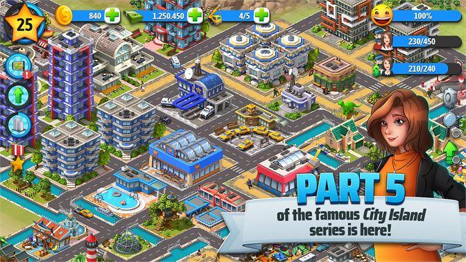 Get City Island 5 - Tycoon Building Offline Sim Game