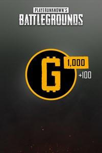 PUBG — 1100 монет G-Coin