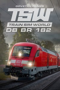 Carátula para el juego Train Sim World: DB BR 182 Loco Add-On de Xbox 360