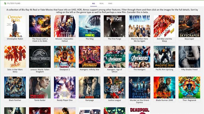 Get 4k Blu-Ray Real or Fake Guide - Microsoft Store