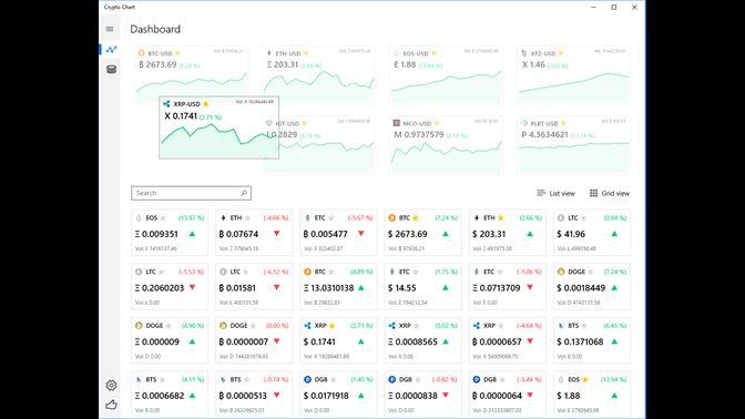 cryptocurrencies price windows desktop