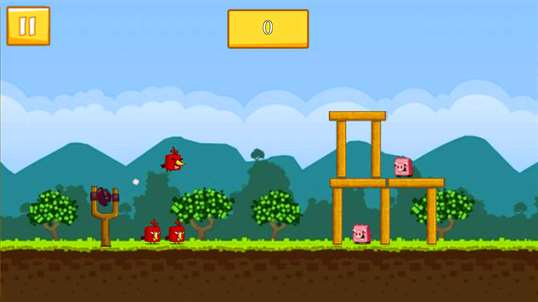 Angry Chicken Space Wars screenshot 2