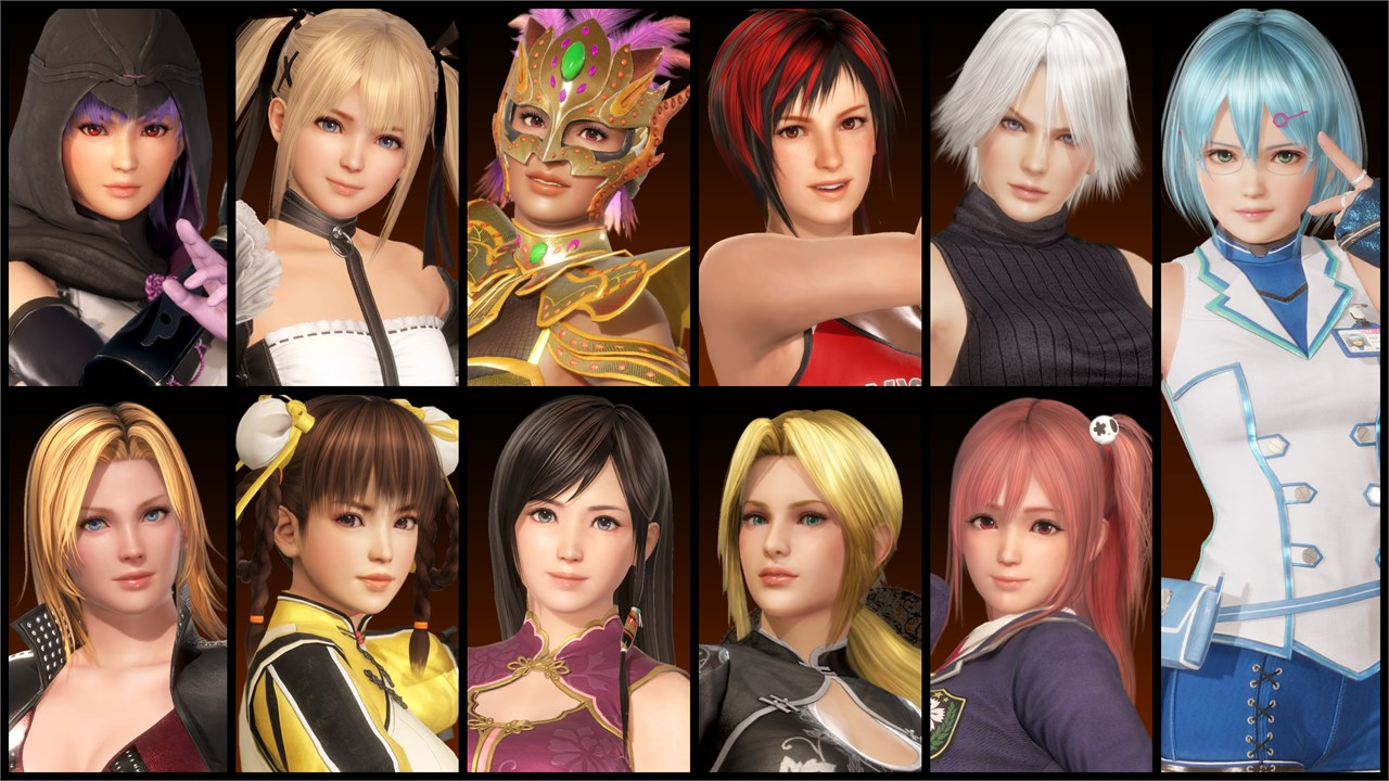 Buy DEAD OR ALIVE 6: Core Fighters - Female Fighters Set