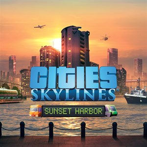 Cities: Skylines - Sunset Harbor Xbox One