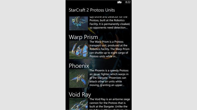 Get StarCraft 2 Protoss Units - Microsoft Store