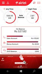 My Airtel-Lanka screenshot 1