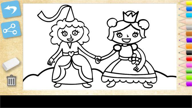Comprar Colorear princesas. Juegos educativos para niñas - Microsoft ...