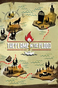 Carátula para el juego The Flame in the Flood de Xbox 360