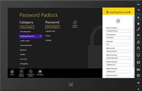 Password Padlock Screenshots 2