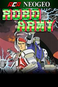Carátula para el juego ACA NEOGEO ROBO ARMY de Xbox 360