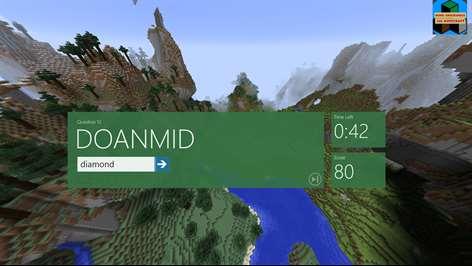 Word Unscramble for Minecraft Screenshots 2