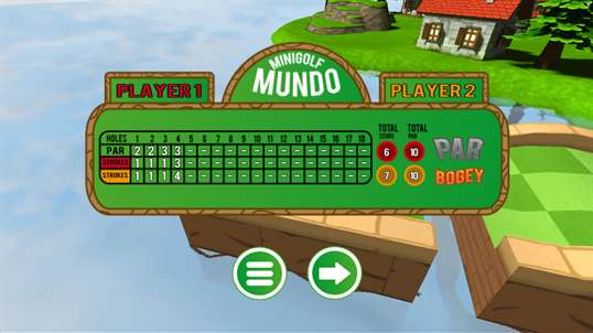 Mini Golf Mundo Free screenshot 5