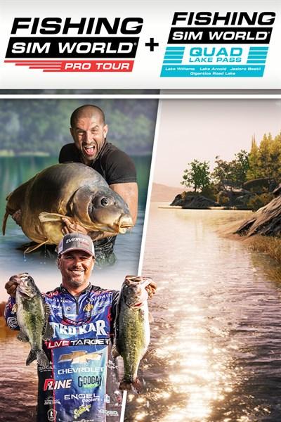 Fishing Sim World: Pro Tour + Quad Lake Pass