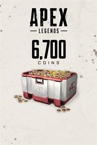 Apex Legends™: 6 700 monedas Apex