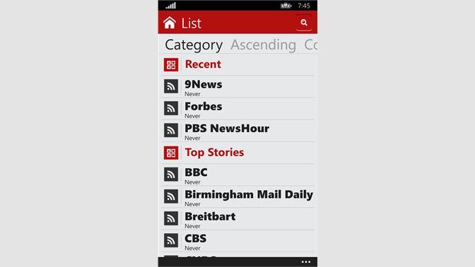 Get RSS One - Microsoft Store en-SA