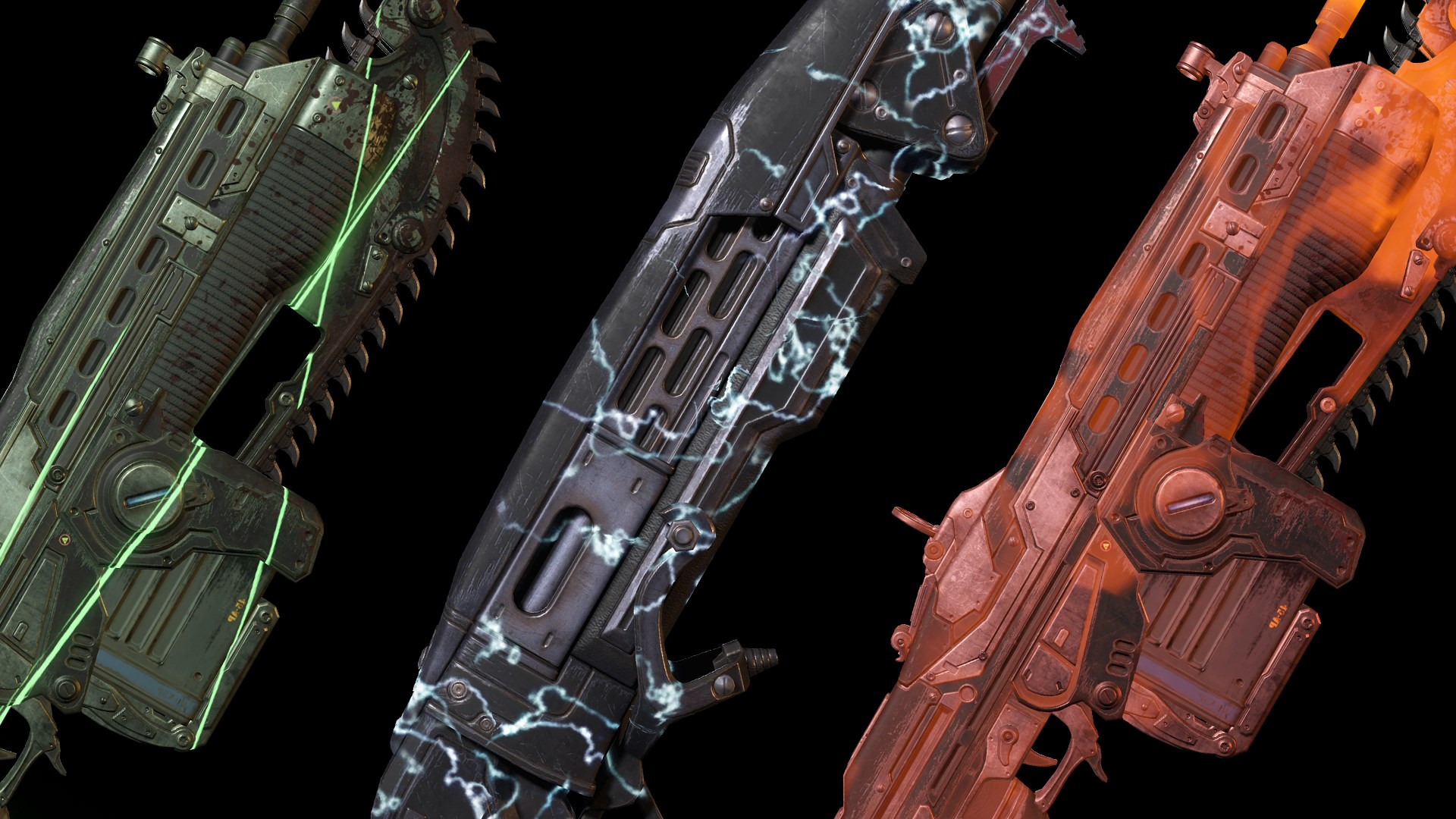 Animated Weapon Skin Pack 1