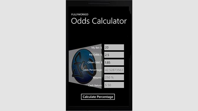 Get Bet Odds Calculator - Microsoft Store
