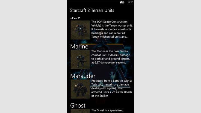 Get Starcraft 2 Terran Units - Microsoft Store