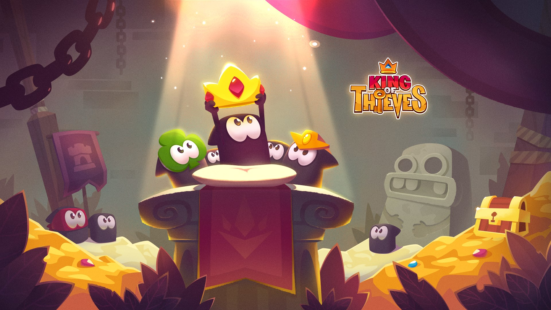 king of thieves apk mod download