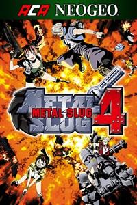 Carátula para el juego ACA NEOGEO METAL SLUG 4 de Xbox 360