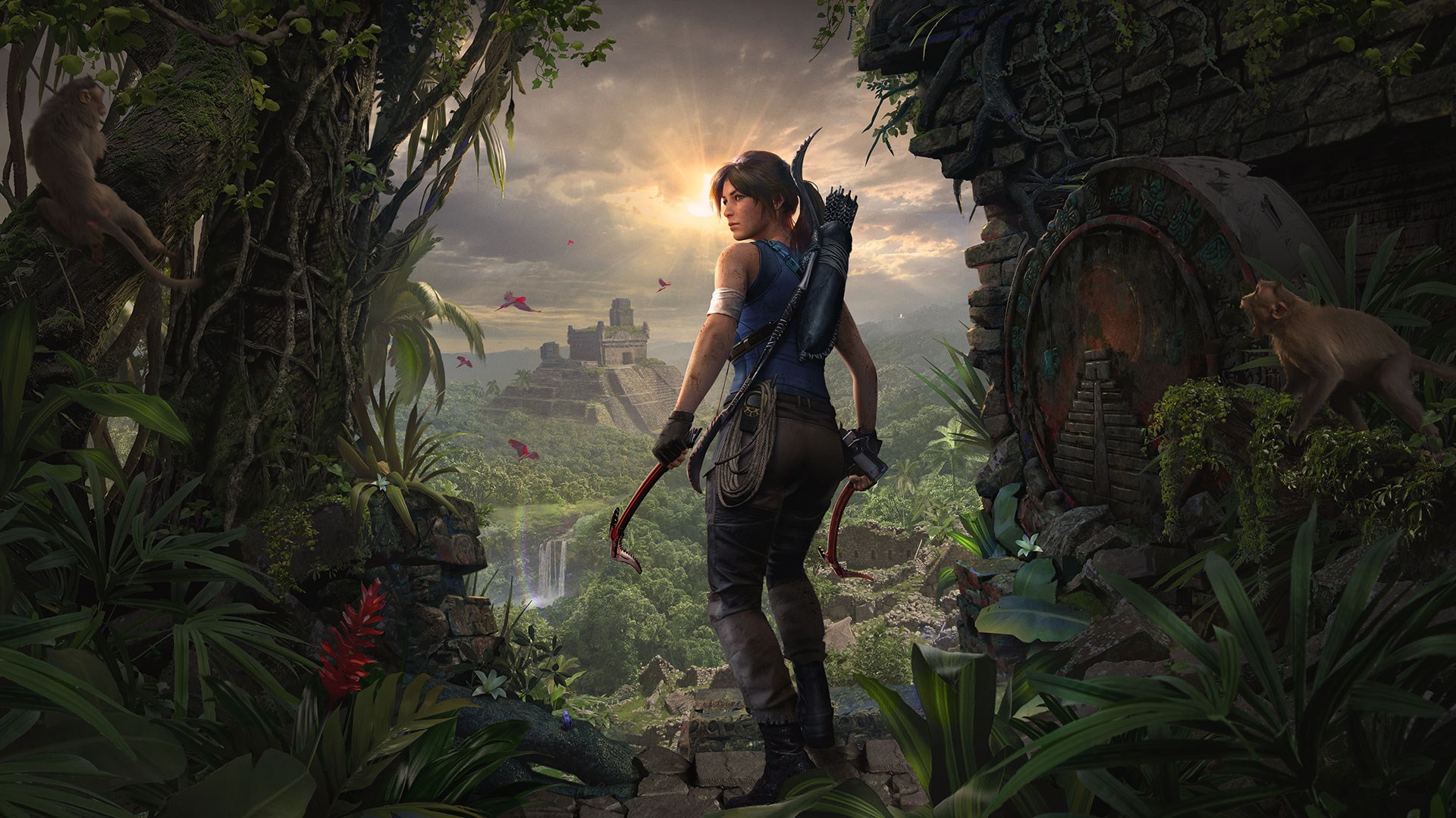 Conteúdo extra de Shadow of the Tomb Raider Definitive Edition