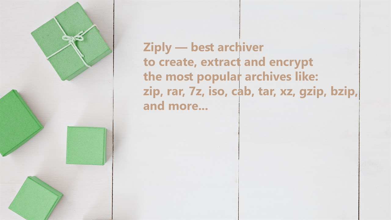 Buy Ziply - best archiver for zip, rar, 7z, iso, cab, and more    Compress,  extract and encrypt  - Microsoft Store