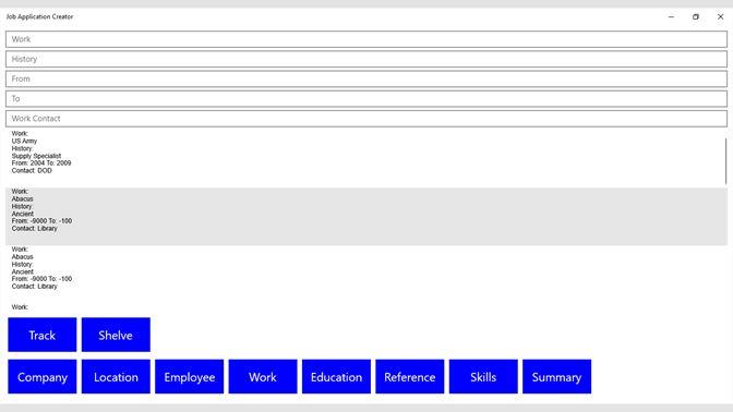 get job application creator microsoft store