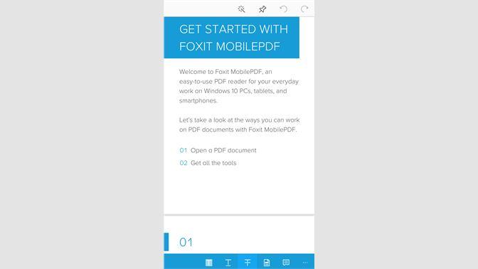 Get Foxit MobilePDF - Microsoft Store