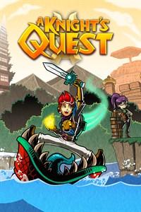 Carátula para el juego A Knight's Quest de Xbox One