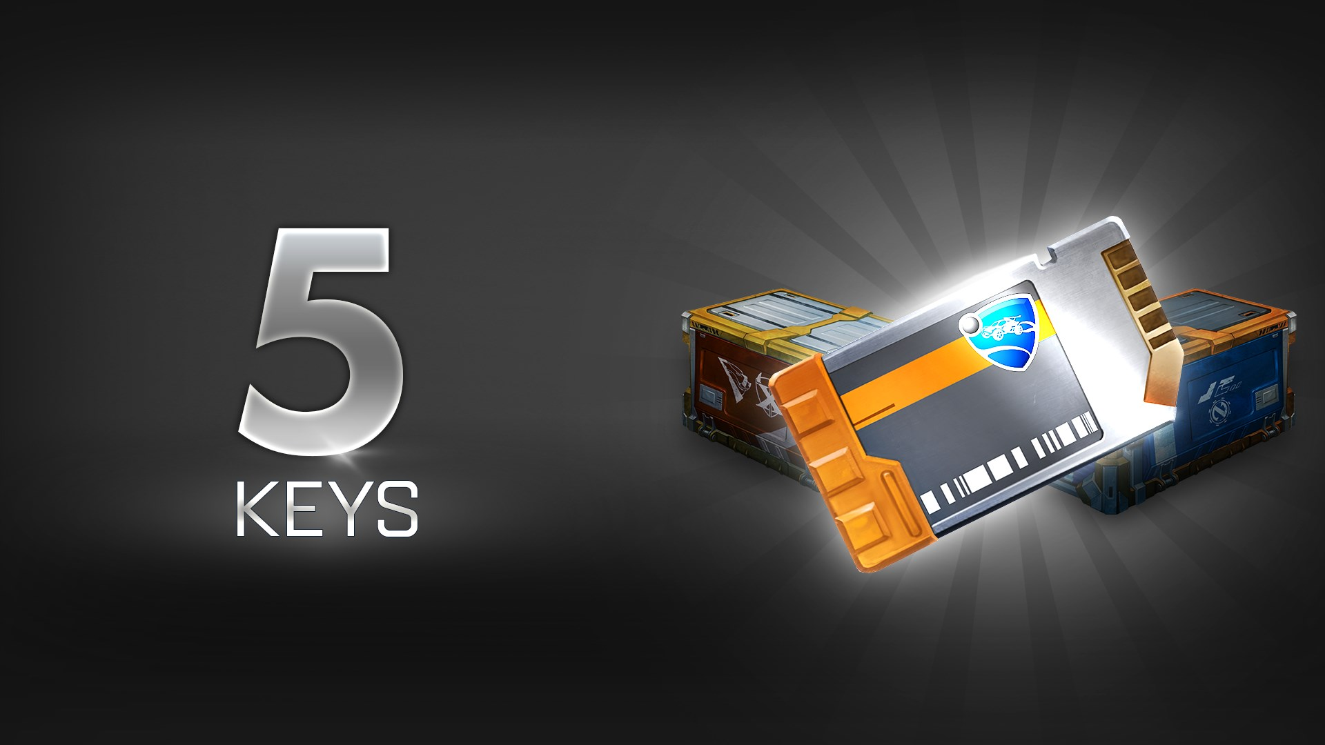 ROCKET LEAGUE® - UNLOCK KEY x5