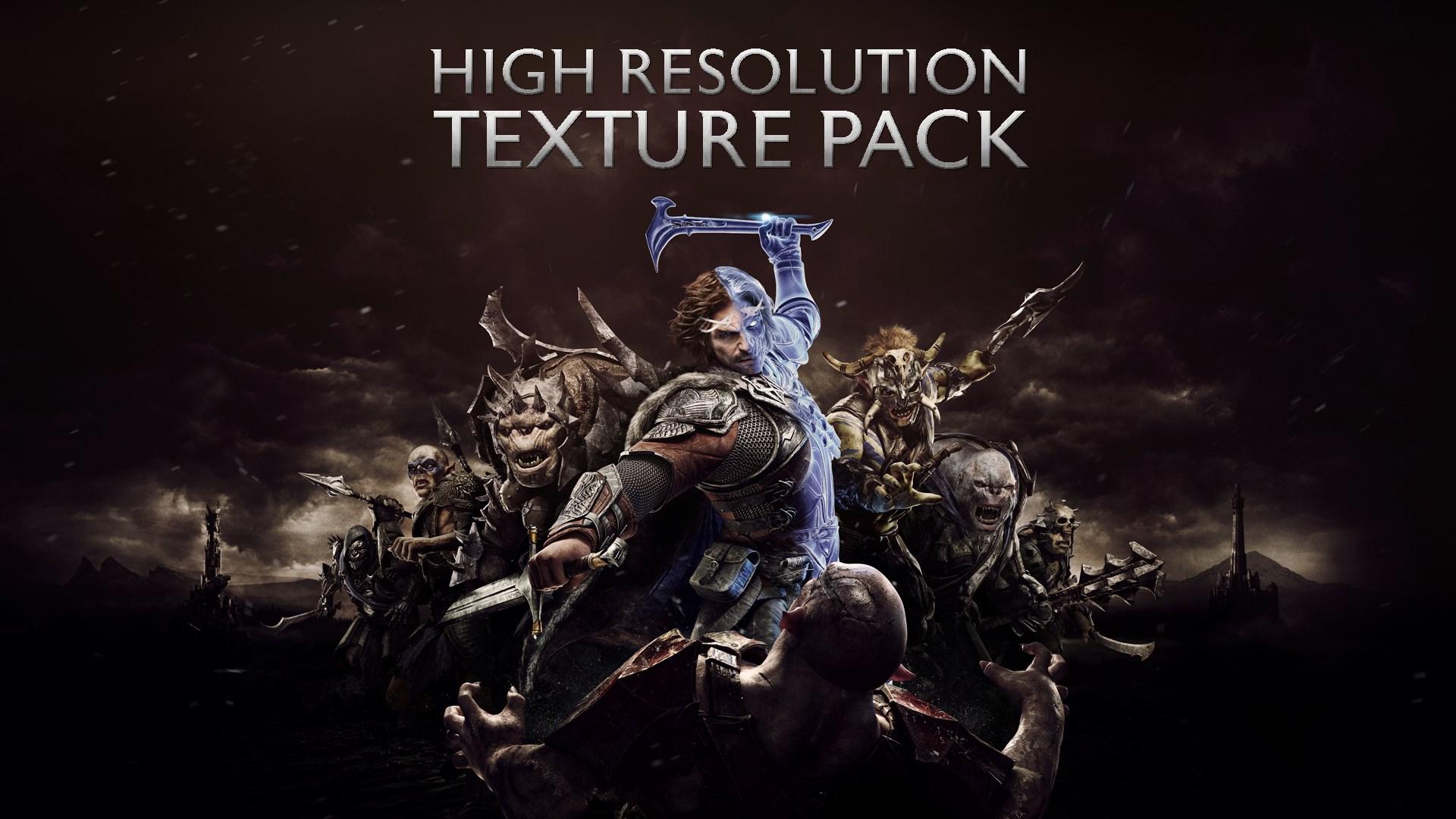 Sombras de Guerra™ - Paquete de Texturas de Alta Resolución