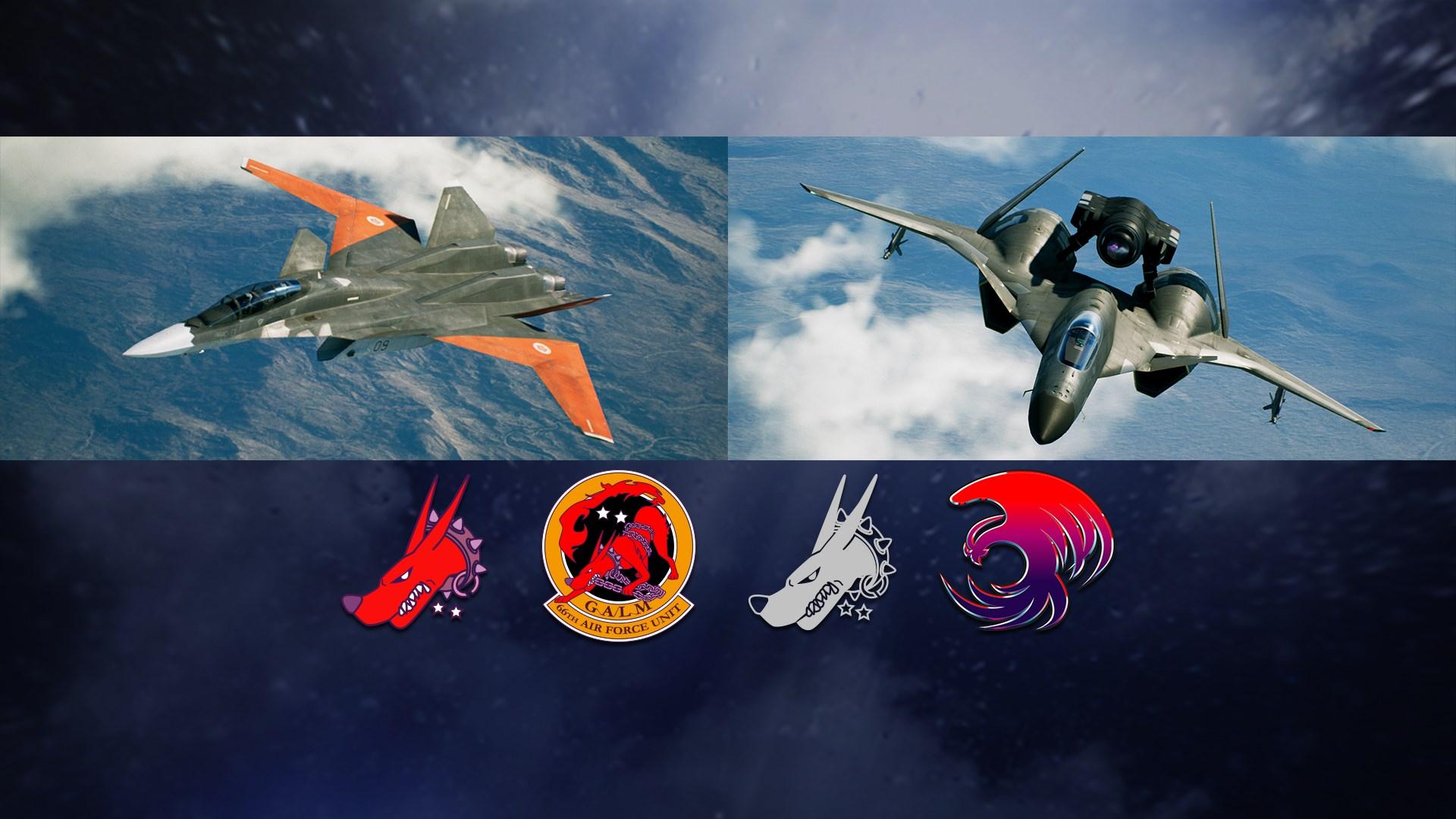 ACE COMBAT™ 7: SKIES UNKNOWN - ADFX-01 Morgan Set