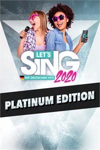 Let's Sing 2020 mit deutschen Hits Platinum Edition