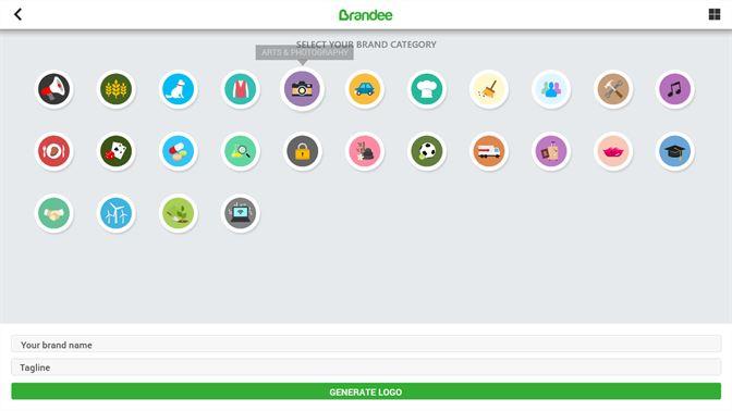 Brandee logo maker logo creator logo generator gallery of categories voltagebd Image collections