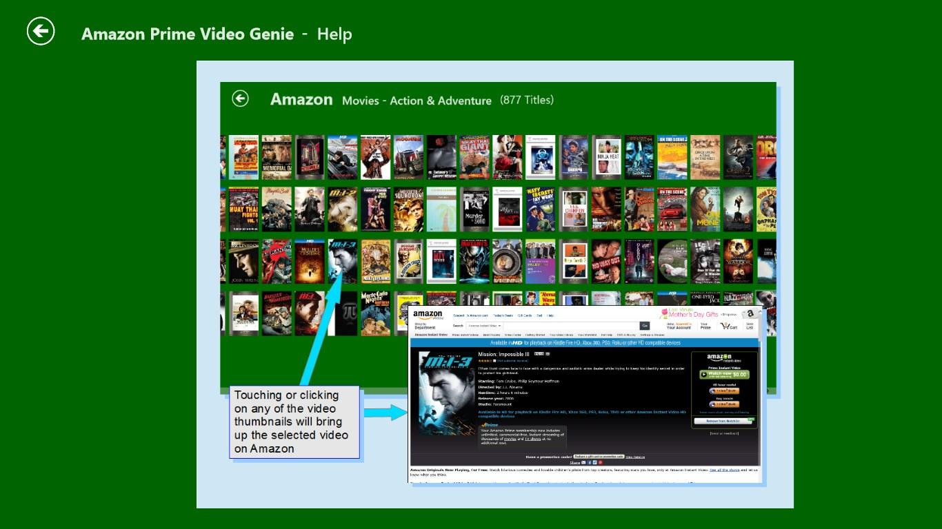 Windows 10 Amazon Instant Video