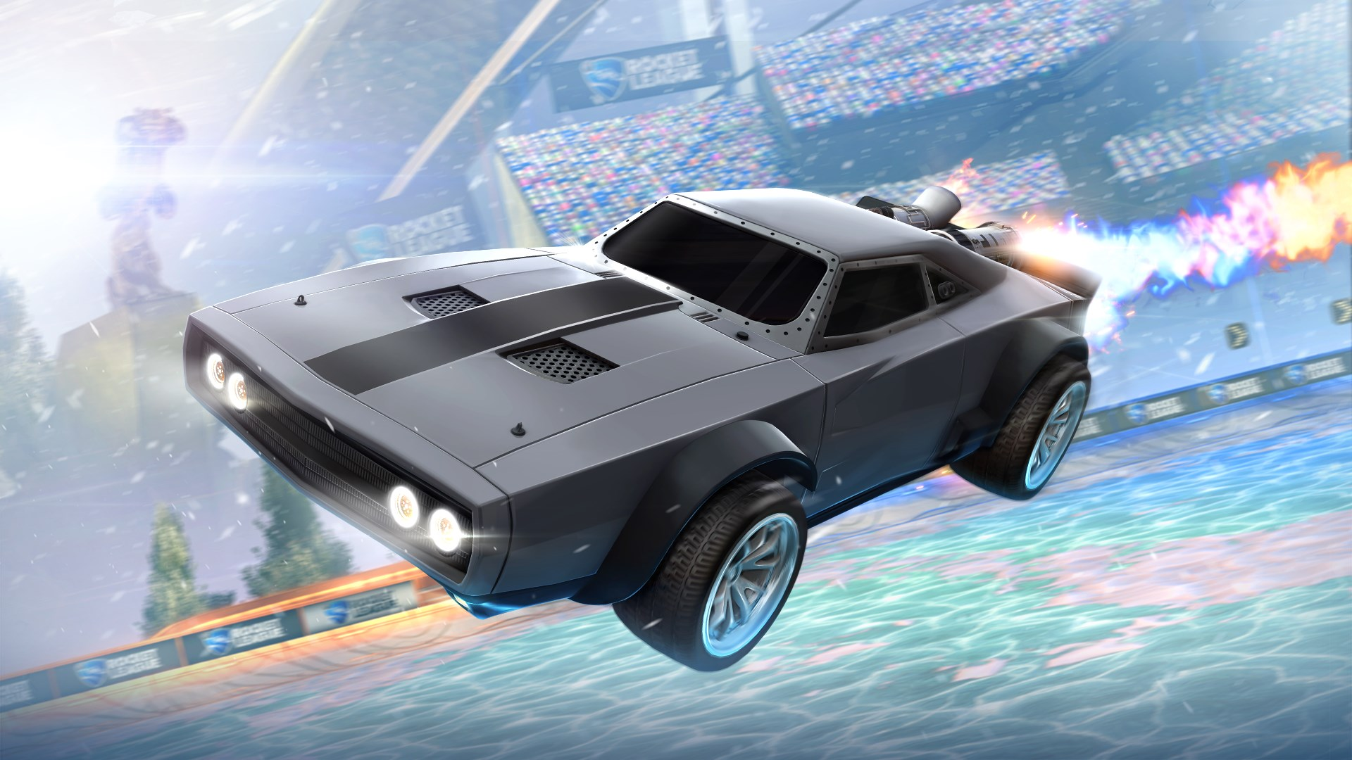 Dodge Ice Charger >> Buy Rocket League The Fate Of The Furious Ice Charger