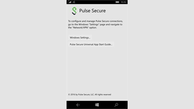Get Pulse Secure - Microsoft Store