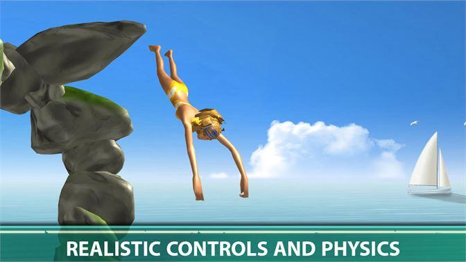 Get Cliff Flip Diving 3D - Swimming Pool Flip Master