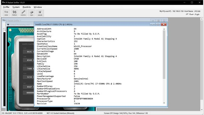 Baixar IP Packet Sniffer - Microsoft Store pt-BR