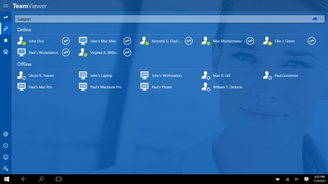 TeamViewer: Remote Control Screenshot