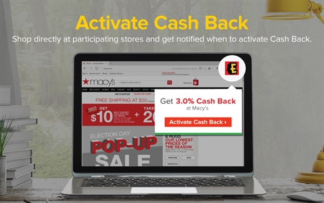 Ebates Cash Back Screenshot