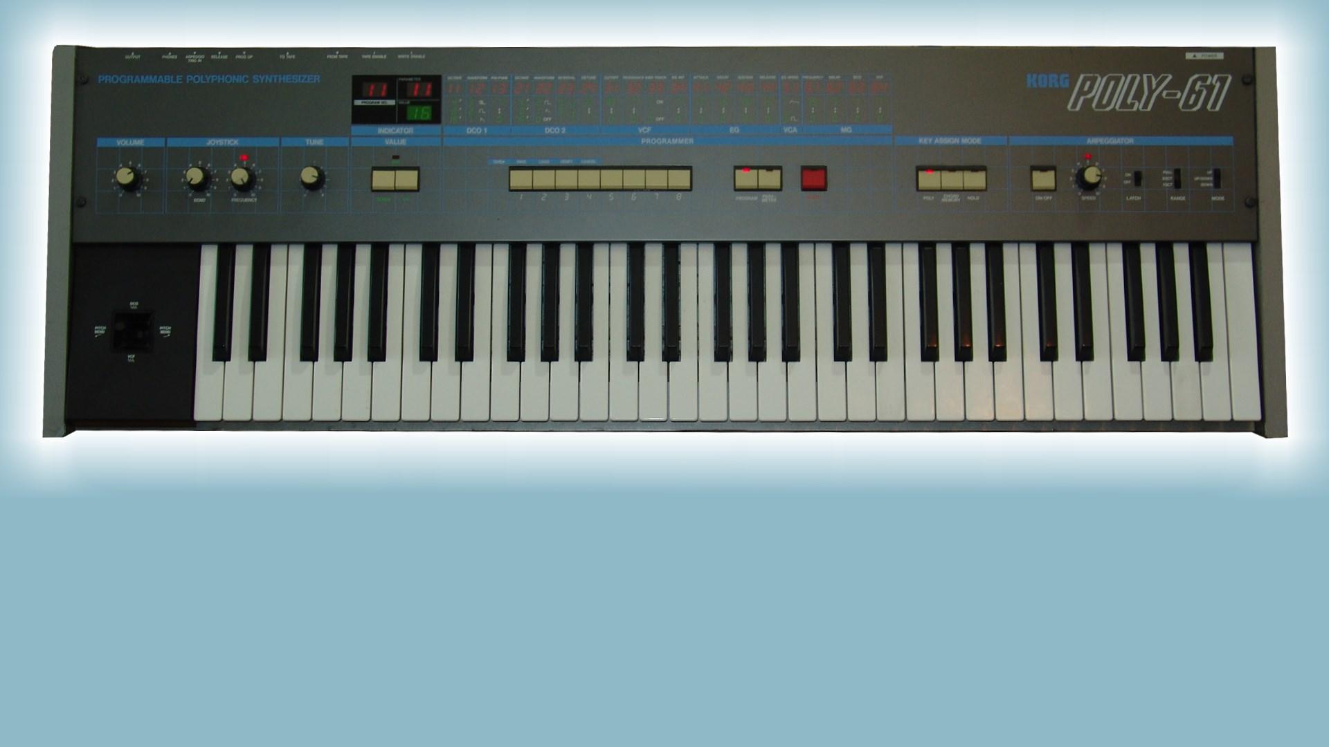 SoundDiviner Plugin: Korg Poly-61