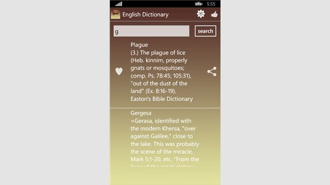 Get Free Holy Bible Dictionary - Microsoft Store