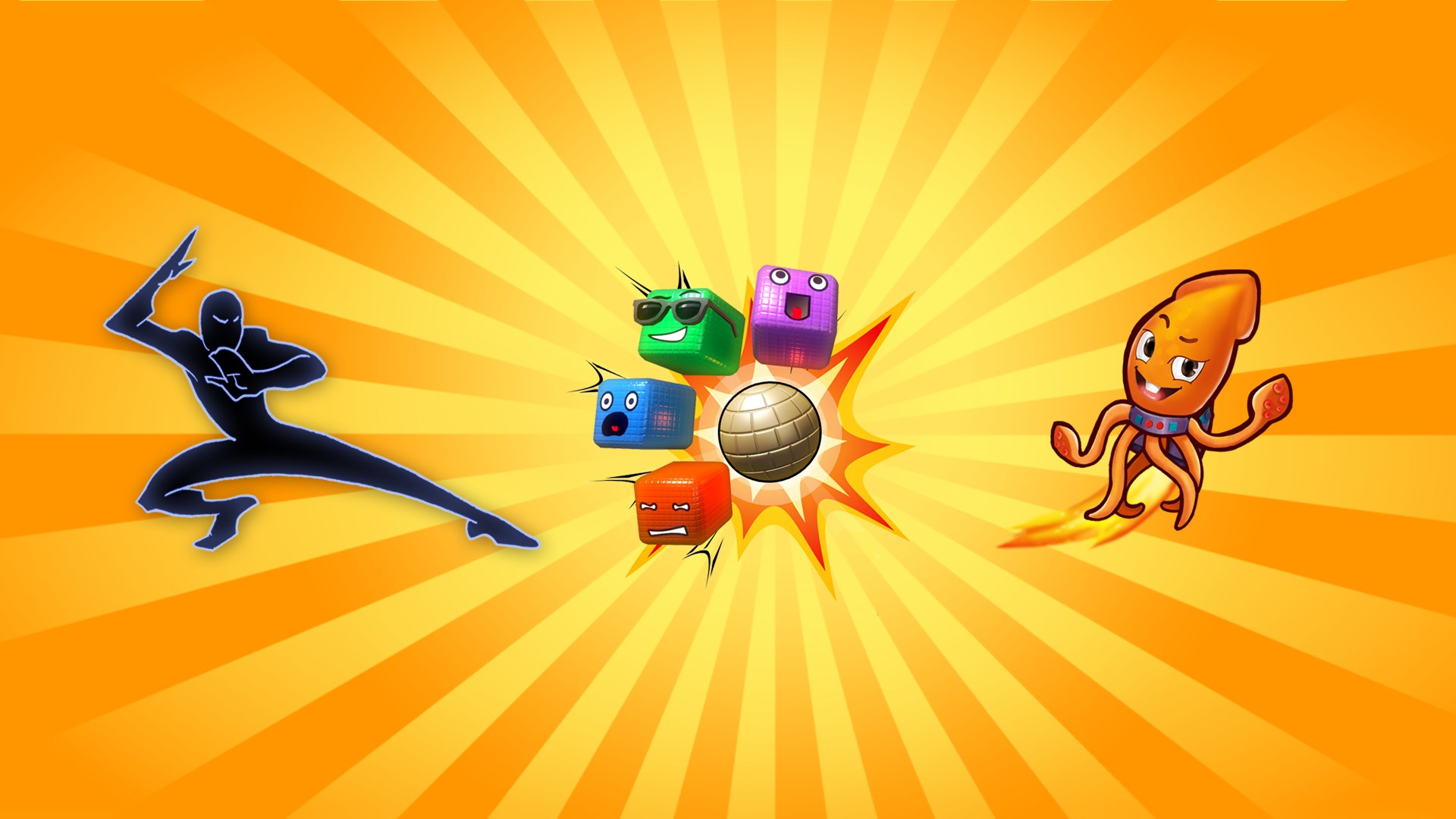 Triplo Pacote Kinect: Beats & Booms & Squids