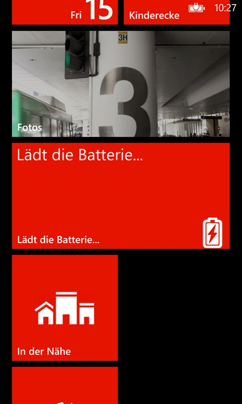 Battery Level for WP8 Screenshot