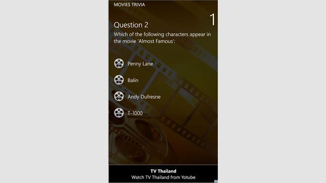 Get Movies Trivia - Microsoft Store