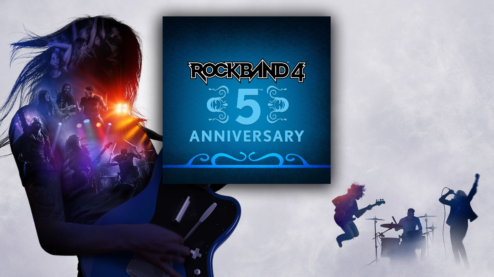 Rock Band™ 4 - 5th Anniversary Free DLC Pack