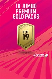10 Jumbo Premium Gold Packs