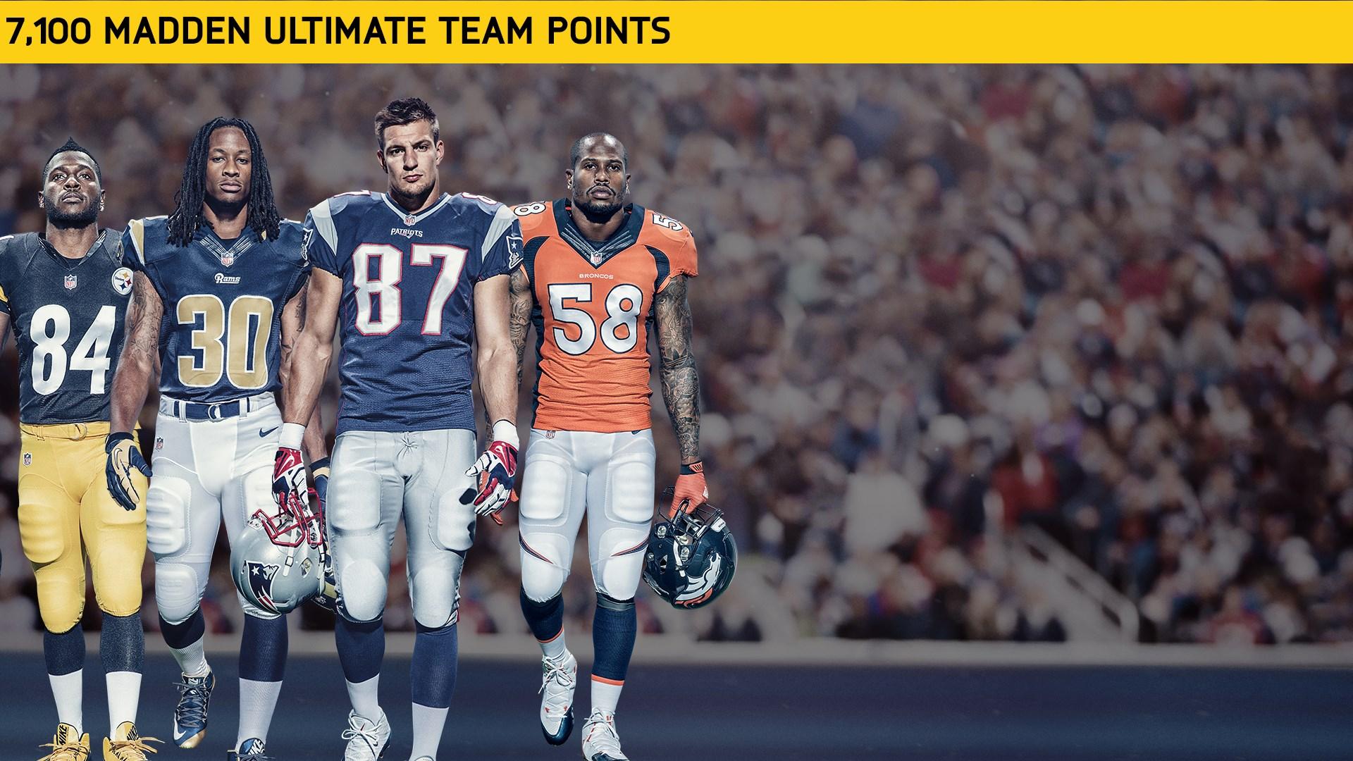 7100 Madden NFL 17 Points
