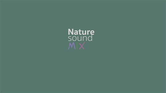 NatureSoundMix screenshot 1